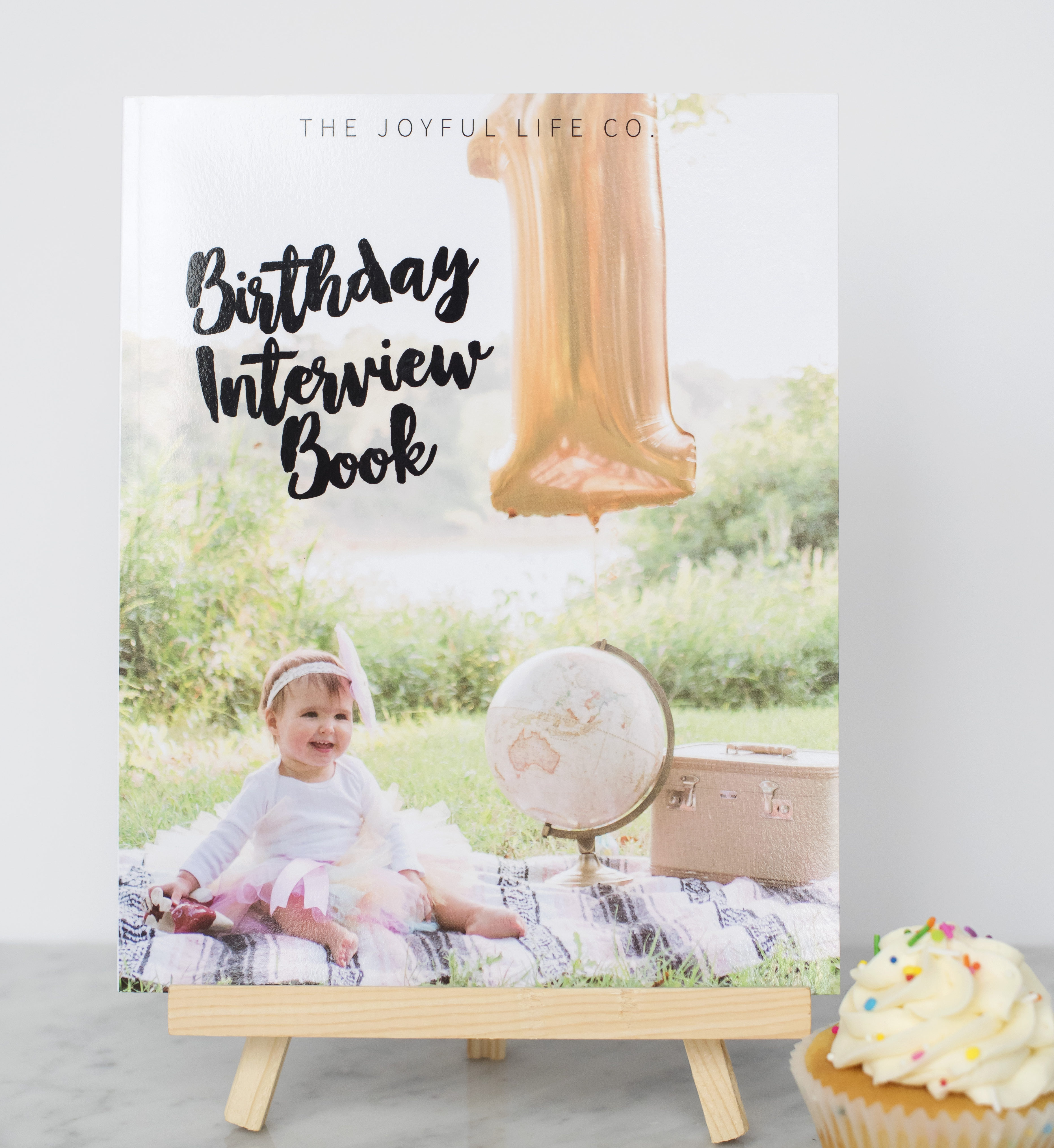 Custom Birthday Interview Book